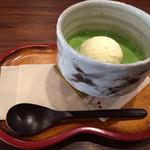 甘味茶寮 ほとり - 宇治の月(700円)