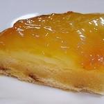 マミー - ラフランスのパイの断面ですw ラフランスがしっかり使われていますw