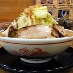 ビストロ de 麺酒場 燿 - G麺系ガッツリら~めん大盛¥700