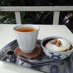 パーラーみんぴか - 今日のおやつ(杏仁豆腐)(2014.2)