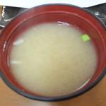 天ぷら徳家 - 徳家定食 740円 味噌汁 食べ放題 【 2014年5月 】