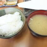 天ぷら徳家 - 徳家定食 740円 ご飯と味噌汁 食べ放題 【 2014年5月 】