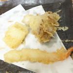 天ぷら徳家 - 徳家定食 740円 天麩羅 クーポン 海老・まいたけ・イカ 【 2014年5月 】