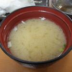 天ぷら徳家 - 徳家定食 740円 味噌汁食べ放題 お替り分 【 2014年5月 】
