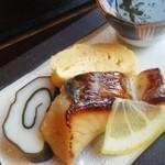 27025941 - 焼き魚ともずく