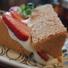 ロヴァニエミ - 料理写真:イチゴシフォン