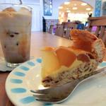 アイボリックモーメント - アップルパイとカフェラテ