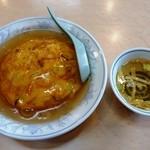 民生 - 料理写真:天津飯 850円