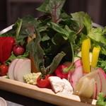 どろまみれ - 野菜盛り