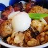 松好 - 料理写真:ランチ 焼き鳥丼