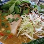 瀬佐味亭 - 料理写真:金の担担麺