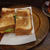 たかしまコーヒー店 - 料理写真:卵と野菜のサンドウィッチ