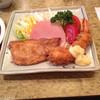 煉瓦亭 - 料理写真:ポークソテーと大海老フライ