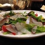 アルモニーア - 鮮魚のカルパッチョとソッタチェート