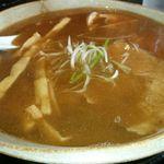 27091361 - 中華そば(大)+半熟煮卵+メンマトッピング