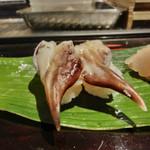 蛇の目鮨 - 追加のとり貝