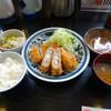 とんかつ浜勝 - 料理写真:「盛り合わせかつ定食」990円(消費税5%込)