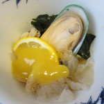 活魚水産 - ムール貝の酢味噌。