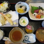 活魚水産 - 川内定食 1000円