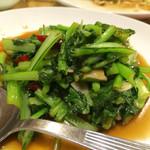 中華料理 豊盛園 - 青菜炒め