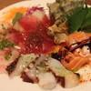 ビストロスタンドフジ - 料理写真:名物!魚屋ビストロ鮮魚のカルパッチョ¥780