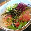 びんちょう家 - 料理写真:天然魚のヅケ丼