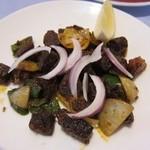 フルバリ - スクティはマトン干し肉の炒め物