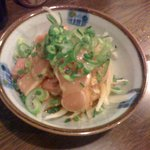 近畿食鶏 - モモ肉の炙りたたき