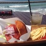 パームビーチ カフェ - 糸島バーガー