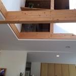 もみの木食堂 - 高くて開放的な天井