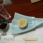 割烹 ふじむら - ☆フルーツと海鮮の前菜☆
