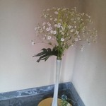 割烹 ふじむら - ☆入り口入ってすぐのお花☆