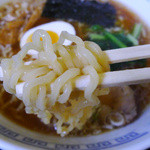 ラーメン相楽 - ラーメン(ふつう味/細麺)