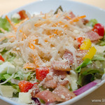 イエローカンパニー - カリカリベーコンとモッツァレラチーズのサラダ【2014年5月】