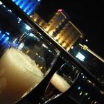 27175236 - リバーサイドからの夜景とアワアワ!