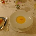 エスカーレ - 本日のスープ にんじんのポタージュ