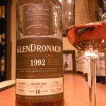 メインモルト - GLENDRONACH 57.2% 16yo 1992-2009  oloroso butt(official/cask #1140)