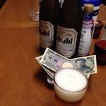 27186886 - ビール中瓶350円