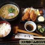 讃岐屋 雅次郎 - カキフライ定食