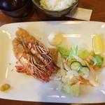 いけす料理 あき - 海老フライ