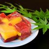 懐石料理かこむら - 料理写真:【マンゴーとイチゴのゼリー寄せ】