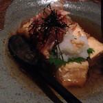 和座ダイニング 茶蔵 - 揚げ出し豆腐です。