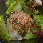力士料理 琴ヶ梅 - 大根サラダ:680円
