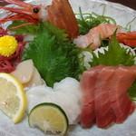 力士料理 琴ヶ梅 - お刺身盛り合せ:1950円