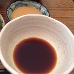 wawa和 - 特製ポン酢と胡麻タレで。