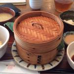 wawa和 - 季節のせいろ蒸し(税込1000円)。