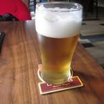 SAWAS食堂 - 生ビール 我慢できず飲みました^^;