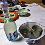 出羽屋 - 夕食(冷酒)
