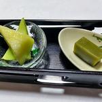 出羽屋 - 夕食(デザート)