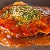 広島風お好み焼き れんが亭 - 料理写真:お好み焼き THE・広島麺 生麺そば入り